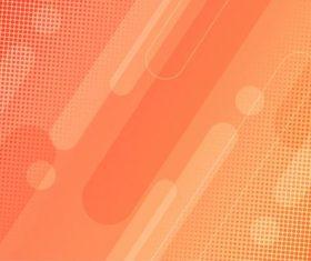 Orange gradient abstract background vector