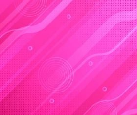 Pink circle abstract background vector