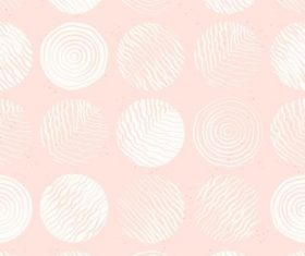Pink circle pattern background vector