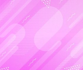 Pink gradient abstract background vector