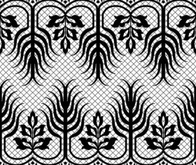 Plant patterns in vector