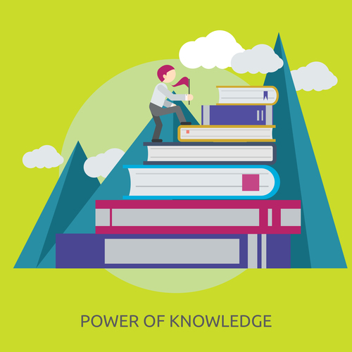 Power Of Knowledge vector