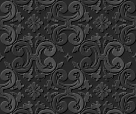 Practical decoration 3d patterns in vector