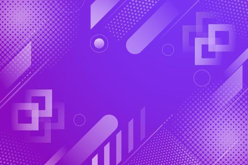 Purple background geometric pattern vector