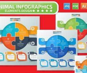 Puzzle Infographics design