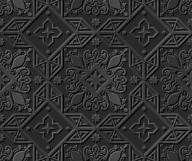 Rhombus 3d modern decorative patterns in vector