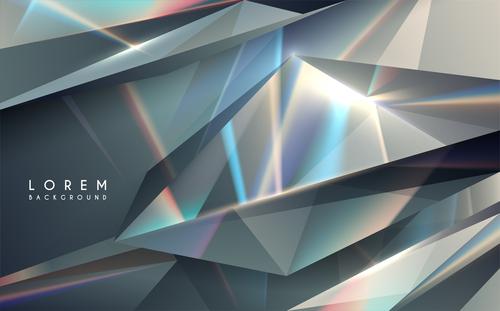 Rhombus glass texture background vector
