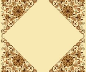 Rhombus pattern seamless background vector