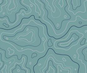 Simple landform graphic background vector