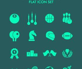 Sport element icon vector