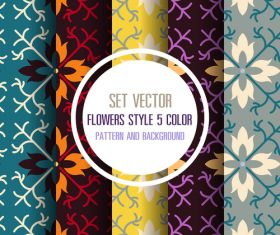 Strong chromatic aberration pattern seamless background vector