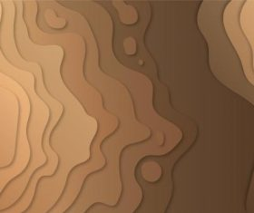 Topographic gradient abstract background vector