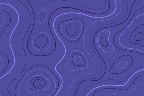 Topographic map wallpaper vector concept vector