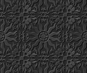 Unique decoration 3d patterns in vector