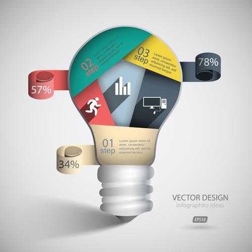 Vector design infographics ideas