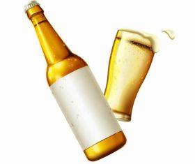 Beer advertising vector