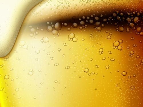 Beer foam vector