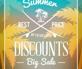 Best price sale flyer vector