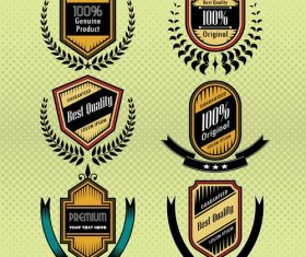 Best quality commercial label vector