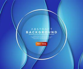 Blue gradient background vector
