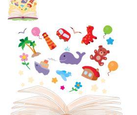 Book content vector