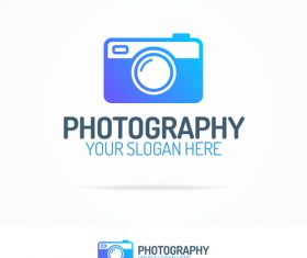 Brand photography logo vector