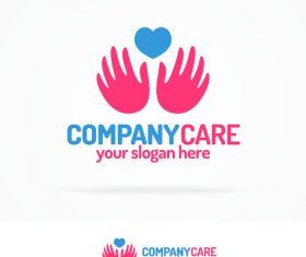 Company care logo vector