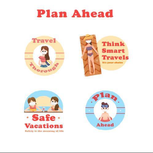 Covid 19 prevention concept illustration vector