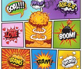 Different manga languages vector