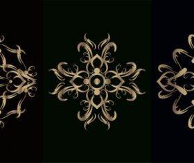 Flower style mandala ornament vector