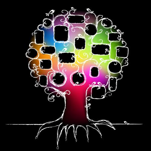 Frame tree vector