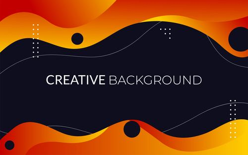 Geometrical creative background vector