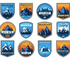 Get out and explore logos in vector