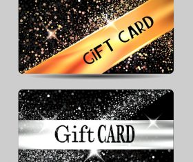 Gift card combination vector