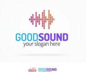 Good sound logo vector
