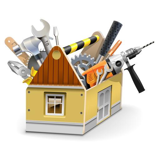 House toolbox vector
