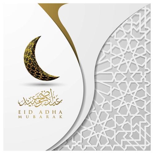 Islamic illustration background vector