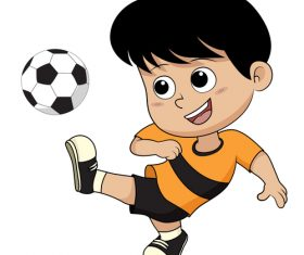 Kids sport vector