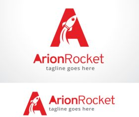 Letter A Rocket