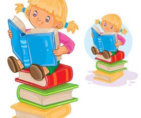 Love learning children vector