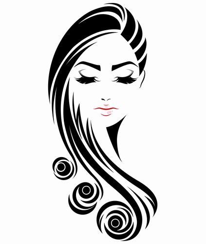 Makeup girl vector