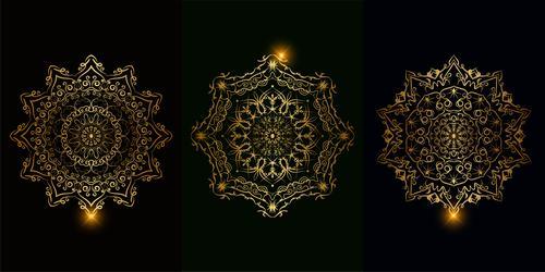 Mandala ornament vector
