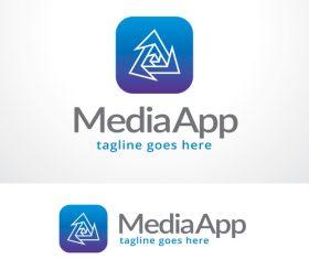 Media App logo vector