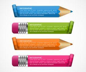 Pencil shape information vector