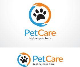 Pet Care logo vector