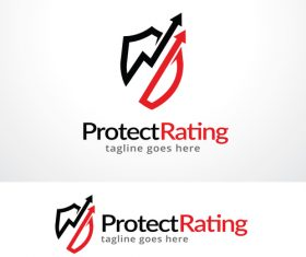 Protect Rating logo vector