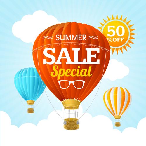 Sale special flyer vector