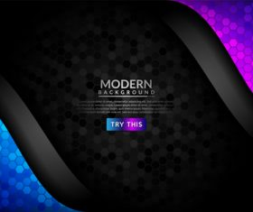 Simple modern background vector