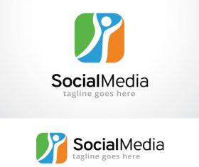 Social Media logo vector