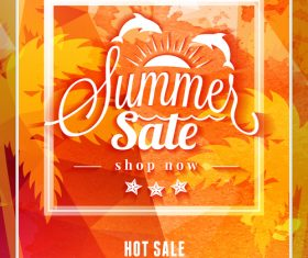Special offer sale flyer vector